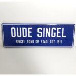 Oude-singel-straatnaambord-emaille-willems