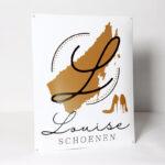 Louise-schoenen-emaille-40x60cm